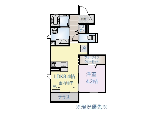 ♢(仮)D-room丹波島K8