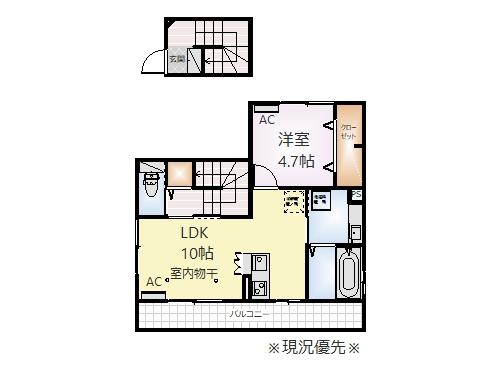 ♢(仮)D-room丹波島K21