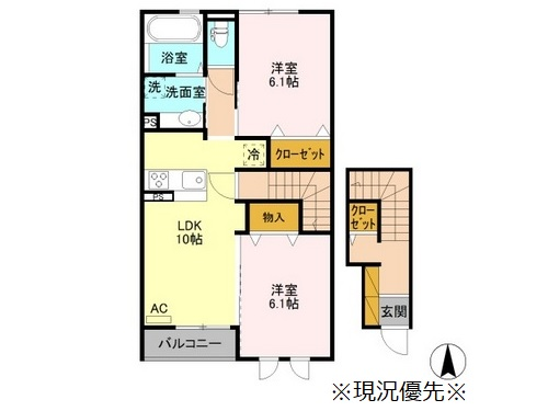 ♢(仮)D-room稲里 N4