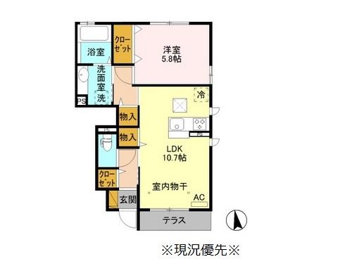♢(仮)D-room川中島町今井KM1