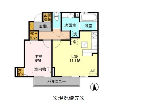 ♢(仮)D-room綱島 A7